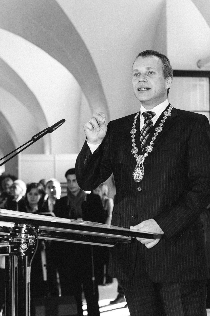 Oberbürgermeister Ingolf Roßberg