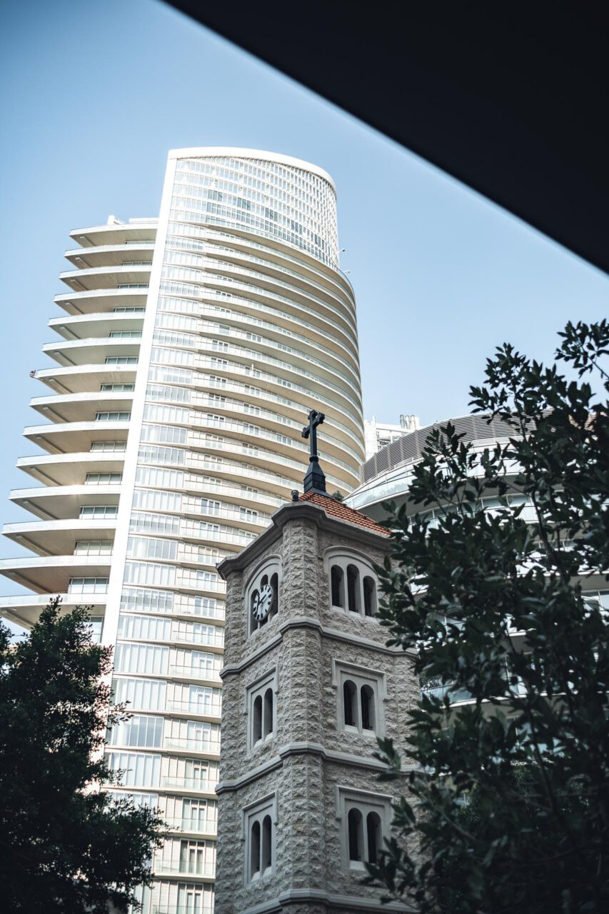 Christliche Kirche in Beirut
