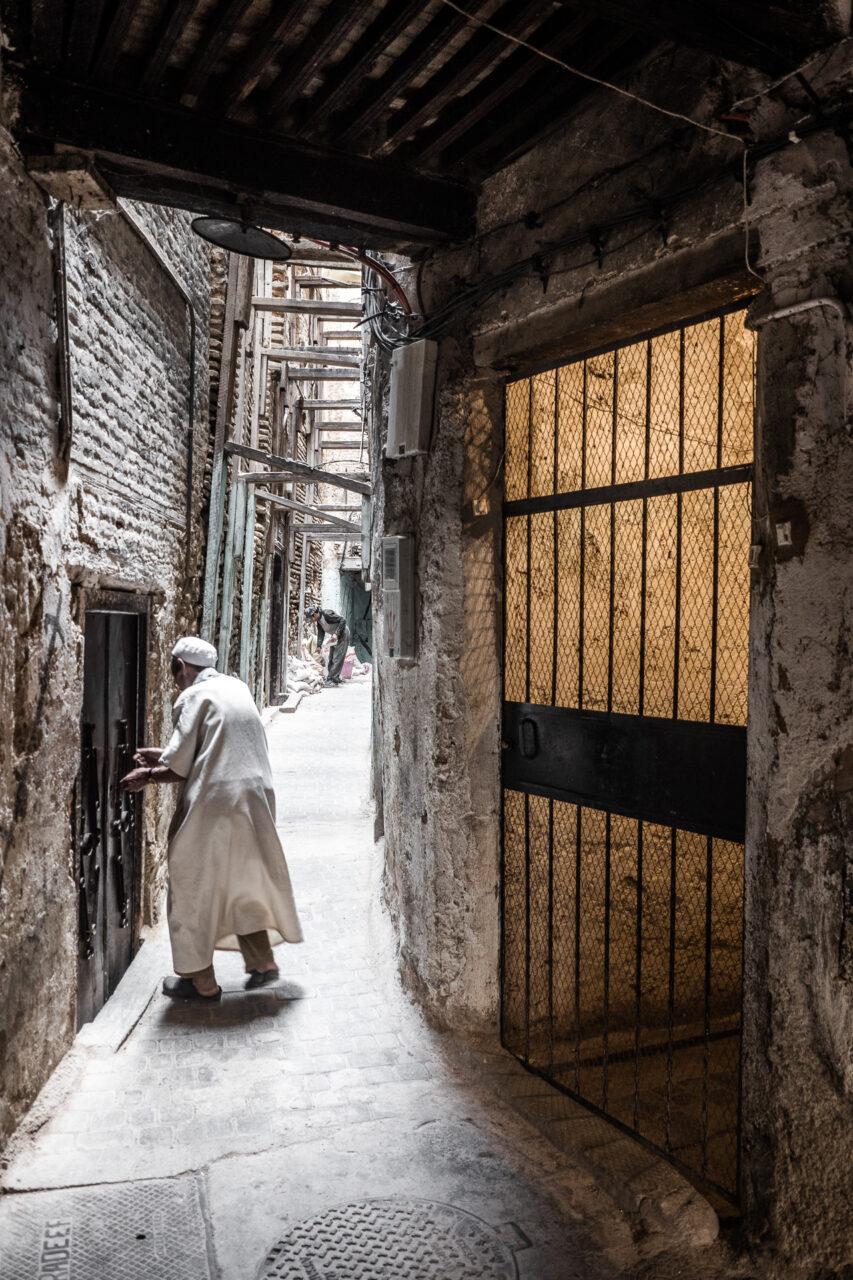 Alter Mann in der Medina