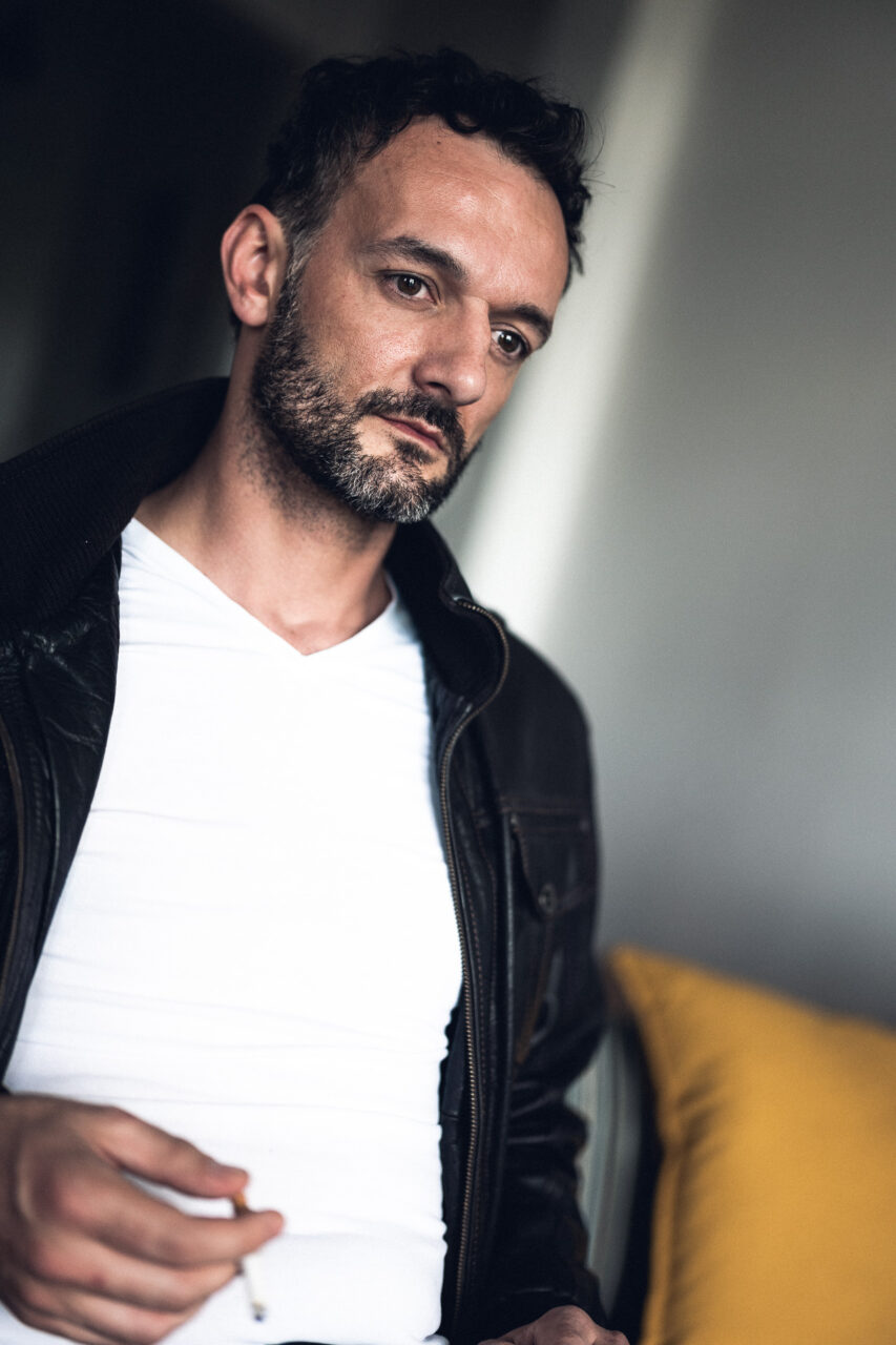 Manuel Krstanovic mit Zigarette